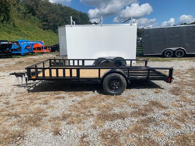 2021 Lamar Trailers 83'' x 14' Single Axle Utility Trailer