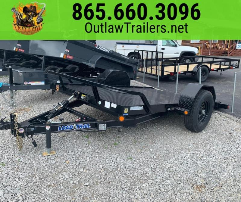 New 2020 Load Trail 6.4 x 12 Low Pro 7K Equipment Trailer