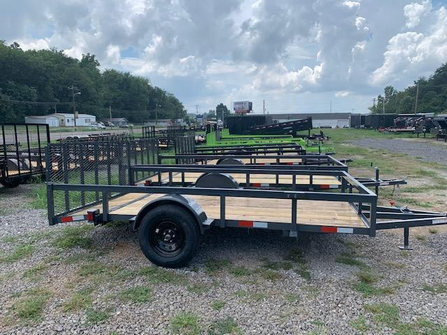 "2020 Outlaw Trailers 7' x 12' OUTLAW SA Utility Trailer ""Full Tube"" Utility Trailer"