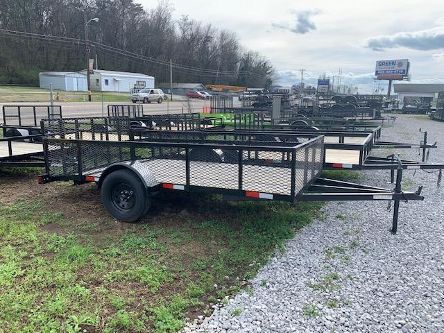 2019 Outlaw Trailers 6.4' x 12' Single Axle Utility Trailer