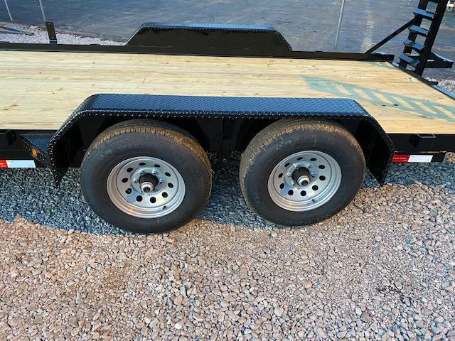 "2020 Gatormade Trailers 82"" x 18' 10400 GVWR Equipment Trailer"