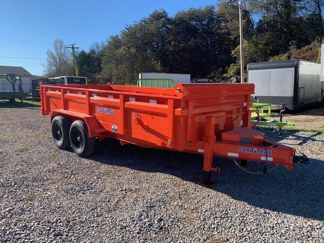 2021 Load Trail 7' x 16' 14000 GVWR Dump Trailer Dump Trailer