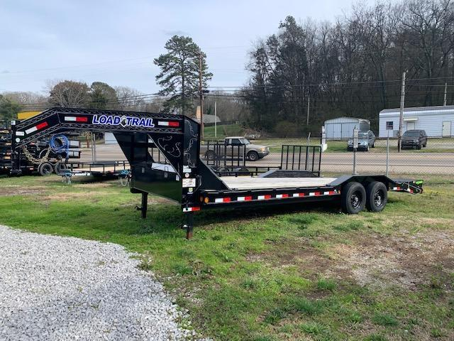 "New 2020 Load Trail 102"" x 24' Low Pro Equipment Trailer w/ Drive Over Fenders and Max Ramps"