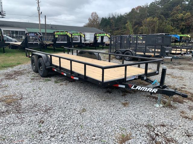 "2021 Lamar Trailers 83"" x 20' 10000 GVWR Utility/Equipment Trailer Equipment Trailer"