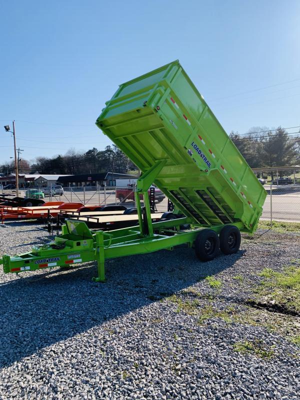 2020 Load Trail LIME GREEN Dump Trailer