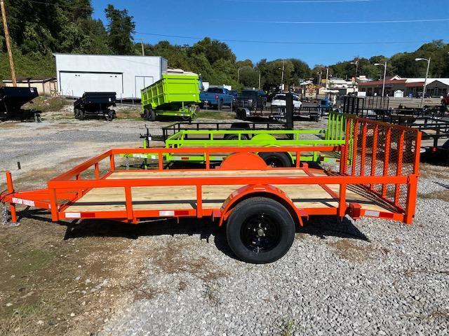 2021 Outlaw Trailers 6.4 x 12 Full Tube Utility Trailer