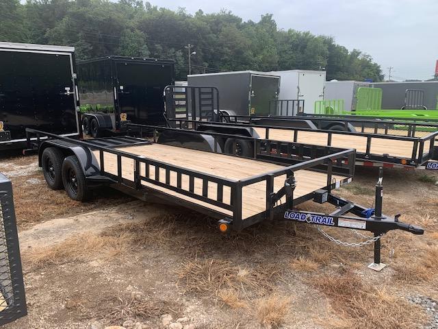 "2021 Load Trail 83"" x 18' TA W/ Side Load Utility Trailer"