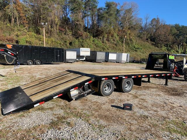 2021 Gatormade Trailers 20 + 10 HYDRATAIL Gooseneck 24900 GVWR Equipment Trailer