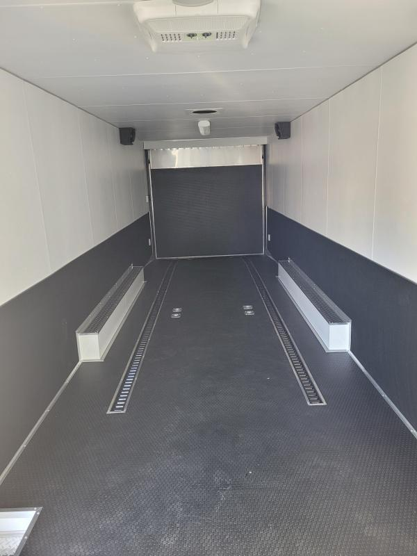 2021 Team Spirit Custom Trailers 8.5' x 32' Triple Axle Race Trailer Enclosed Cargo Trailer