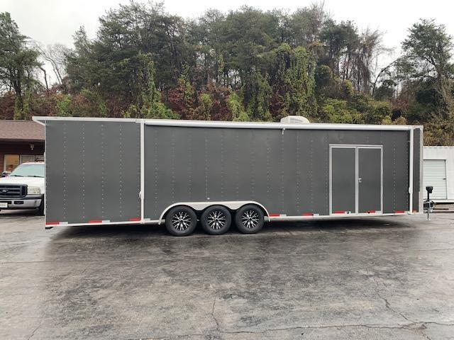 2021 Team Spirit Custom Trailers 8.5' x 32' Triple Axle Race Trailer Enclosed Cargo Trailer