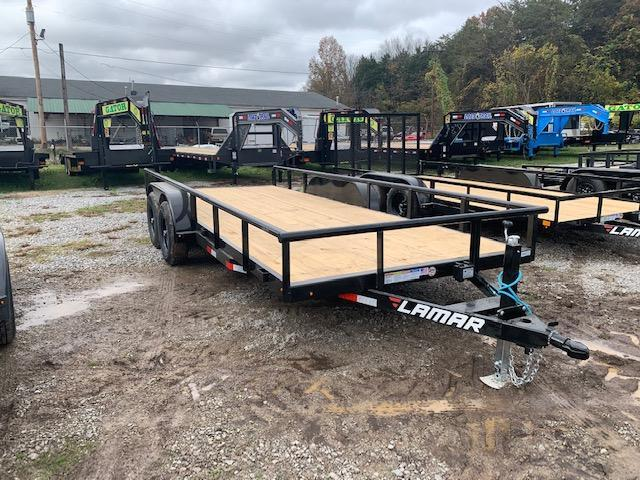 "2021 Lamar Trailers 83"" x 18' Utility/Equipment 10000 GVWR Equipment Trailer"