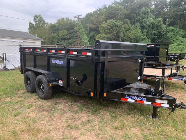 2021 Load Trail 7' x 14' 14000 GVWR 3' SOLID SIDES Dump Trailer
