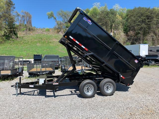 2020 Hawke Trailers 6' x 12' *OUTLAW EDITION* 10K Dump Trailer