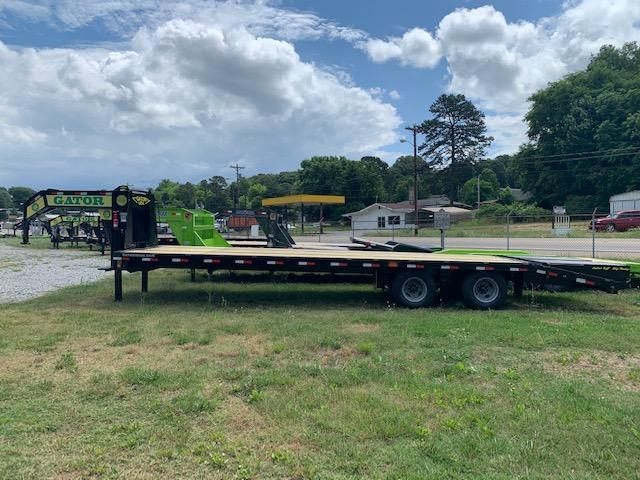 2020 Gatormade Trailers 25 plus 5 ELITE 24900 GVWR w/ hydraulic jacks Equipment Trailer