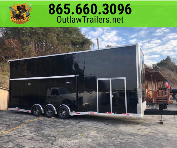 2020 Outlaw Stacker Race Trailer