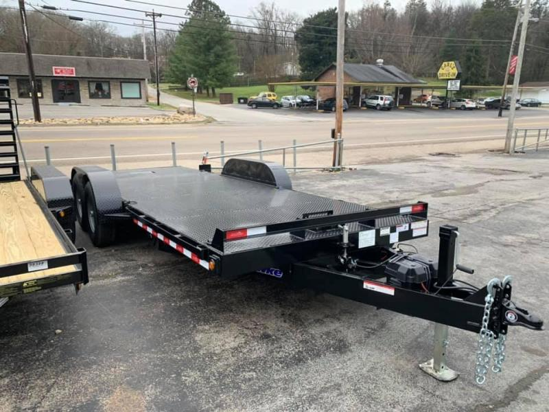 New 2020 Hawke Outlaw 20' 12K Full Hydraulic Tilt Trailer