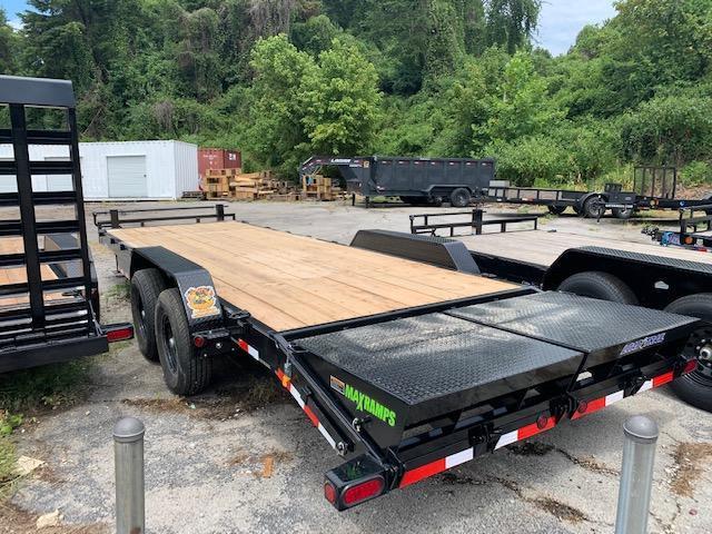 "2020 Load Trail 83"" x 24' 14000 GVWR W/ Max Ramps Equipment Trailer"
