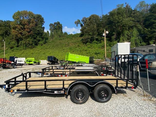 2021 Load Trail 83'' x 16' TA Utility Trailer