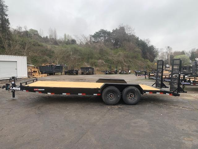 2021 Lamar Trailers 83'' x 22' Equipment Trailer