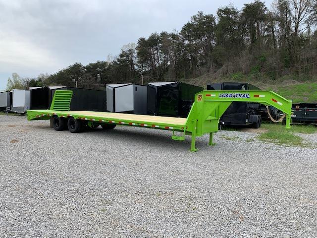 "2020 Load Trail 102"" x 32' Low Pro Gooseneck Dual Tandem Equipment Trailer"