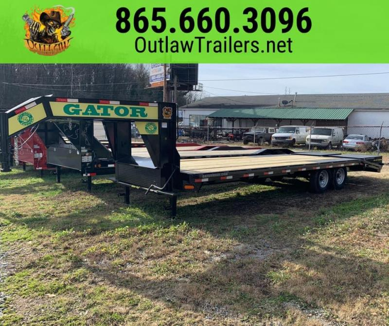 New 2021 Gatormade 20+5  Gooseneck Equipment Trailer 16K