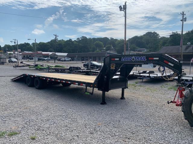 "2020 Load Trail 102"" x 32' Dual Tandem Hyraulic Dovetail Equipment Trailer"