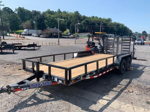 "2021 Load Trail 83"" x 20' 10000 GVWR W/ Split Gate Equipment Trailer"