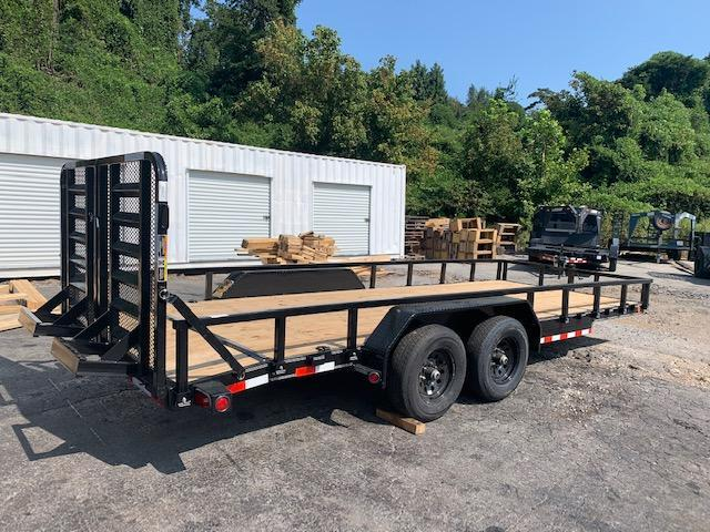 "2021 Load Trail 83"" x 20' 10000 GVWR W/ Split Gate Equipment Trailer"