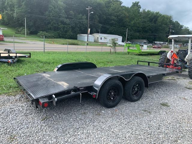 "2021 Load Trail 83"" x 18' Steel Floor Car Hauler- 7000 GVWR Car / Racing Trailer"
