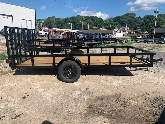 "2020 Outlaw Trailers 7' x 14' SA ""Tube Top Rail"" Utility Trailer"
