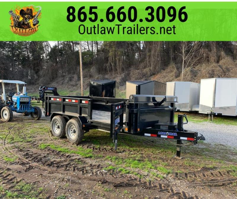 New 2020 Load Trail 7 X 14 14K Dump Trailer