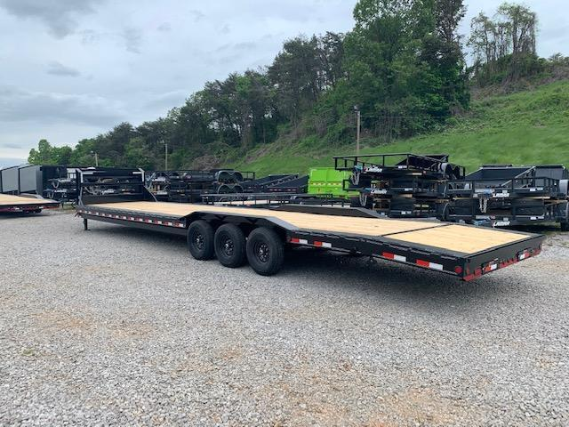 "2020 Load Trail 102"" x 40' triple axle D/O Fender GN Car Hauler Equipment Trailer"