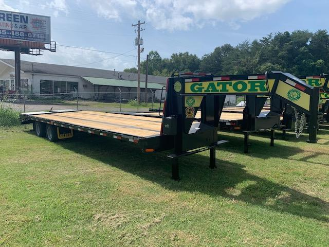 "2021 Gatormade Trailers 102"" x 30' ""ELITE"" Gooseneck W/ Hydraulic Jacks Equipment Trailer"