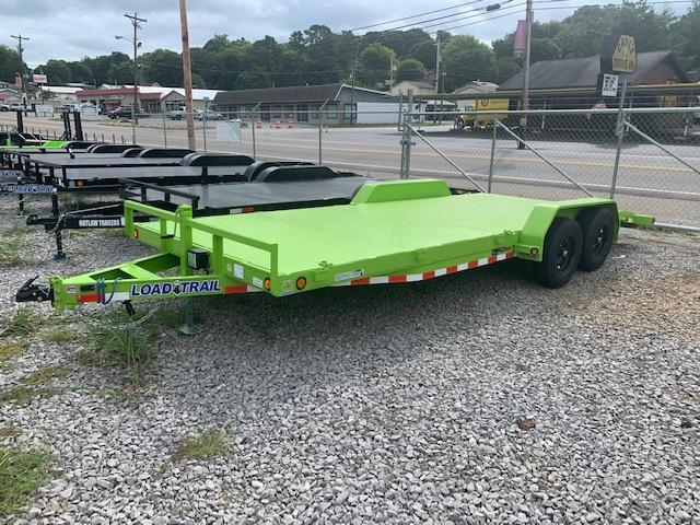 "2021 Load Trail 83"" x 20' Steel Floor Car Hauler 10000 GVWR Car / Racing Trailer"