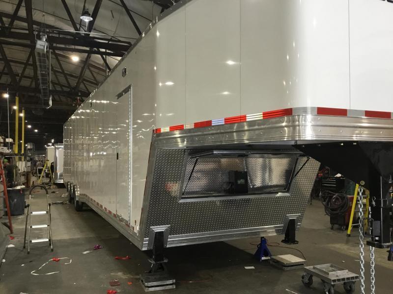 2021 CargoPro Trailers 8.5' x 53' ALL ALUMINUM ENCLOSED RACE TRAILER Enclosed Cargo Trailer