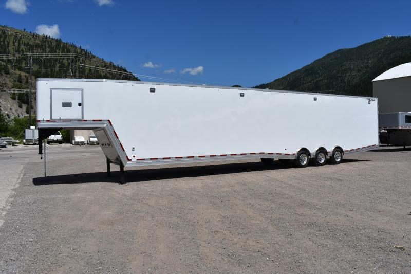 2021 CargoPro Trailers 8.5' x 53' ALL ALUMINUM ENCLOSED RACE TRAILER Enclosed Cargo Trailer