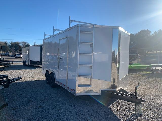 "2021 Outlaw Trailers 8.5' x 16 ""CONTRACTOR"" Trailer- 10000 GVWR Enclosed Cargo Trailer"