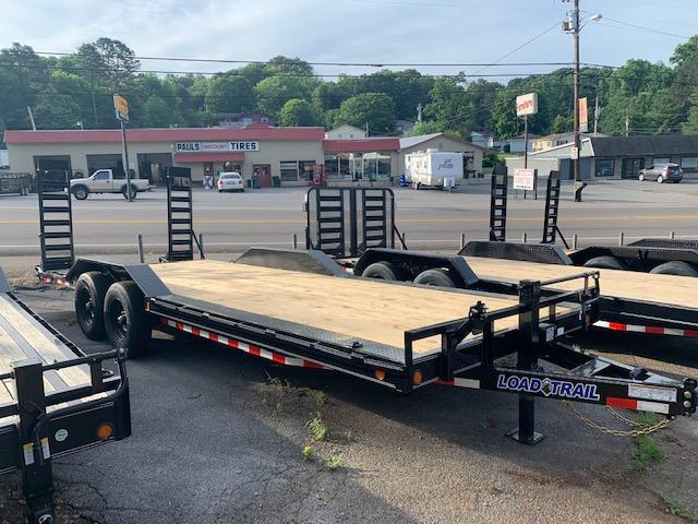 2020 Load Trail 102' x 22' 14000 GVWR w/ drive over fenders Equipment Trailer