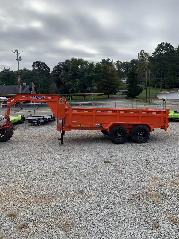 2021 Load Trail 7'x14' Gooseneck Dump Trailer
