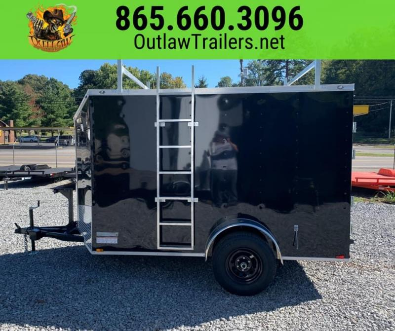 New 2020 Outlaw 6 X 10 Single Axle Enclosed Trailer 5200 GVWR
