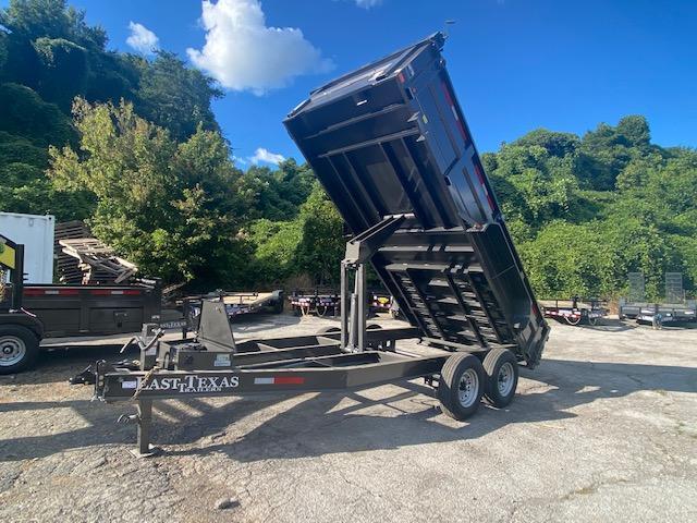 2022 East Texas 7x16 Dump Trailer