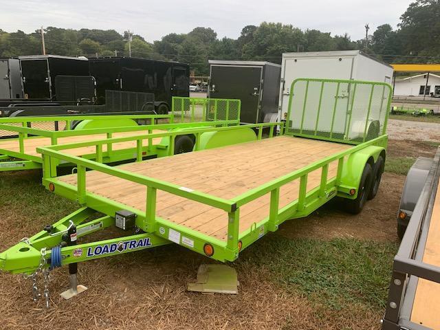 "2021 Load Trail 83"" x 18' TA Utility Trailer"