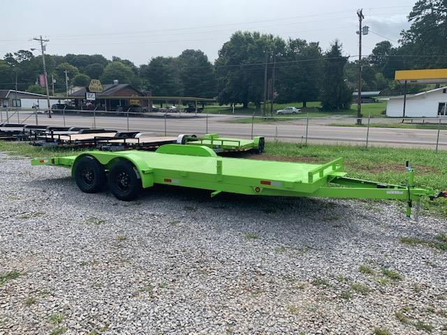 2021 Outlaw Trailers 7' x 20' OUTLAW Steel Floor Car Hauler- 7000 GVWR Car / Racing Trailer