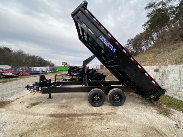 2021 Load Trail 7x16 Deck over Dump Trailer