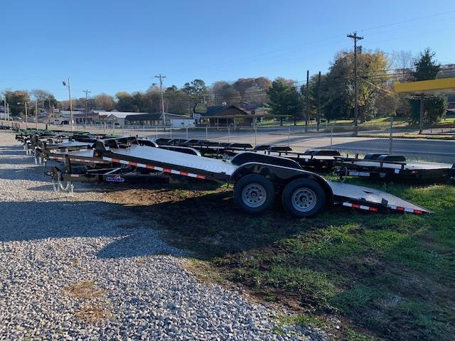 2021 Outlaw Trailers 20' HAWKE *OUTLAW EDITION* Full Hydraulic Tilt Car / Racing Trailer