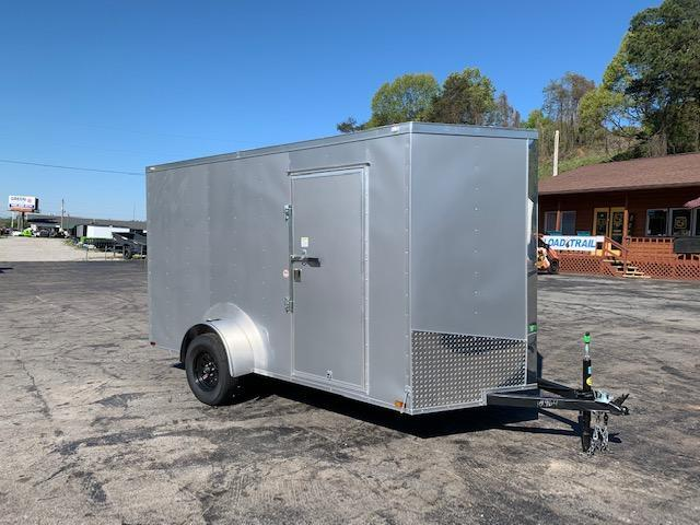 2020 Outlaw Trailers 6' x 12' SINGLE AXLE Enclosed Cargo Trailer