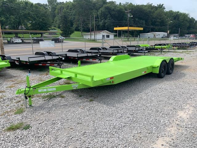 2020 Load Trail 7' x 24' OUTLAW Steel Floor Car Hauler- 7000 GVWR Car / Racing Trailer