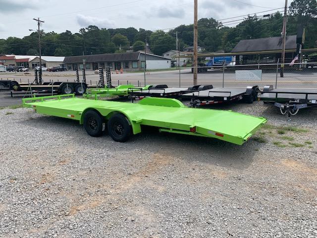 2020 Load Trail 7' x 24' OUTLAW Steel Floor Car Hauler- 7000 GVWR Car / Racing Trailer