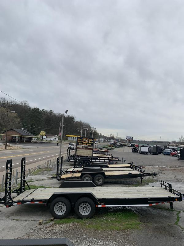 2019 Load Trail 22' wood deck Equipment Trailer