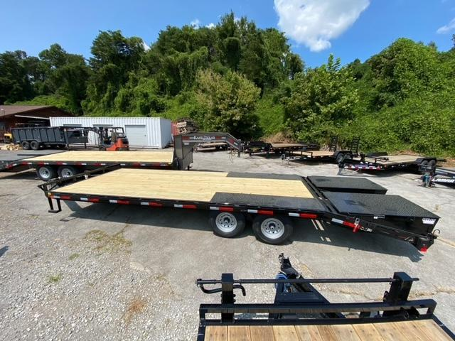 2022 East Texas 25' Deckover Equipment Trailer